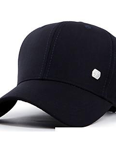 Chapéu Resistente Raios Ultravioleta Unissexo Basebal Verão Café Cinzento Preto Azul Cáqui Escuro-Esportivo®