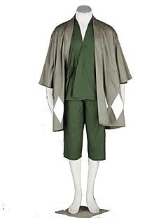 Inspirovaný Dead Cosplay Anime Cosplay kostýmy Cosplay šaty Jednobarevné Vrchní deska Kalhoty Pásek Kimono Pro
