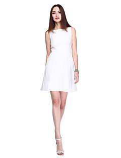 TS Couture® Prom  Cocktail Party Dress - Ivanka Style / Celebrity Style Sheath / Column Bateau Short / Mini Jersey