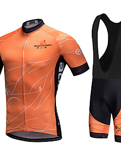 AOZHIDIAN Summer Cycling Jersey Short Sleeves BIB Shorts Ropa Ciclismo Cycling Clothing Suits #AZD026