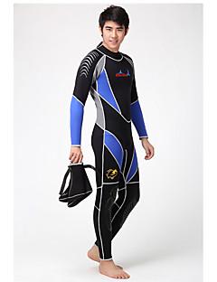 Dive & Sail® Homens 3mm Mergulho Skins Wetsuits completosImpermeável Respirável Térmico/Quente Secagem Rápida Resistente Raios