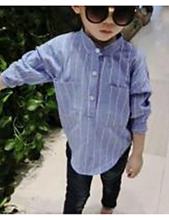 Boy Casual/Daily Striped Shirt,Cotton Spring Fall