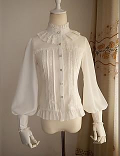 חולצה לוליטה גותי לוליטה מתוקה לוליטה קלאסית ומסורתית לוליטה פאנק Wa Lolita מלח לוליטה בהשפעת וינטאג' ויקטוריאני נסיכות Cosplayשמלות