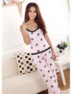 Dámské roztomilé růže vzor pyžama