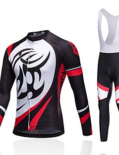 Camisa com Shorts para Ciclismo Unissexo Manga Curta MotoRespirável Secagem Rápida A Prova de Vento Design Anatômico Vestível Alta