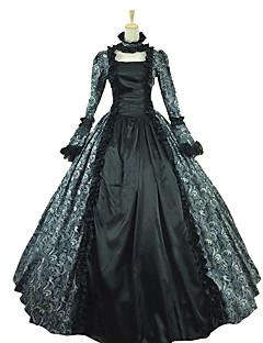 Jednodílné/Šaty Gothic Lolita Klasická a tradiční lolita Rococo Princeznovské Retro Elegantní Viktoria Tarzı Cosplay Lolita šaty Černá
