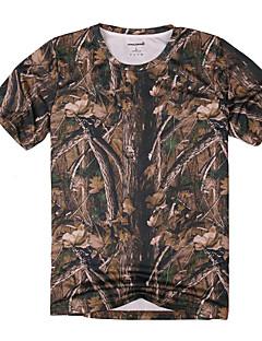 Unisex T-paita Metsästys Käytettävä Hengittävä Mukava Kesä