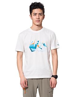 MAKINO® Homens Manga Curta Corrida Camiseta Blusas Respirável Antibacteriano Verão Moda EsportivaAcampar e Caminhar Pesca Alpinismo