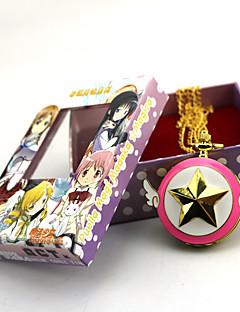 Hodiny / hodinky Inspirovaný Puella Magi Madoka Magica Zen Anime Cosplay Doplňky Hodiny / hodinky Zlatá Stop Dámský