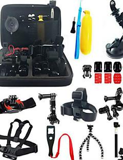 Accessoires für GoPro,Schutzhülle Einbeinstativ Stativ Taschen Schraube Boje Action Cam ZubehÖr Saugnapfhalterung Klebehalterungen /