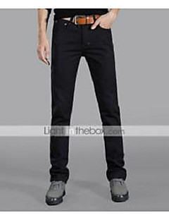AOLONGQISHI® Men's Casual Pure Pant (Cotton/Denim) W306