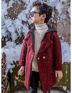 Boy Going out Casual/Daily Leopard Down & Cotton Padded,Others Winter Long Sleeve