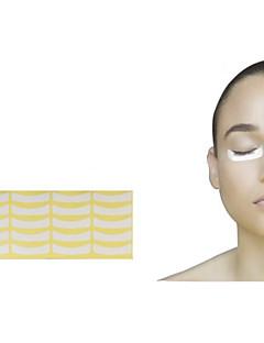 100pairs Papier Patches Wimper unter Augenpads Peitsche Wimpernverlängerung Papier Patches Auge spitzt Aufkleber Wraps