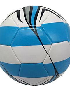 Høy Elastisitet Holdbar-Fotball(Hvit Blå,PVC)