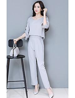 den nye våren damene bluse ermet slanke føtter bukser dress bukser todelte avtakbar stykke