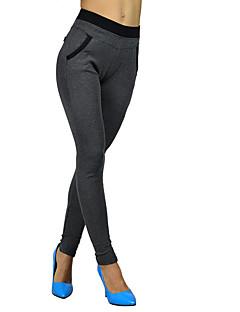 Vrouw Kruiselings bewerkt Legging,Polyester