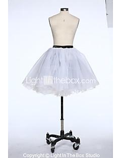 Slips Ball Gown Slip Short-Length 6 Taffeta Tulle White Black Red