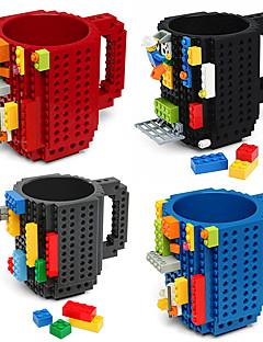 drinkware bouwstenen mokken diy blok puzzelmok caneca opbouw op baksteen kop koffie soort koffie mok