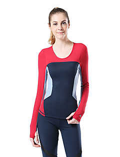 Queen Yoga®Yoga Tops Breathable / Lightweight Materials Stretchy Sports Wear Yoga Women's