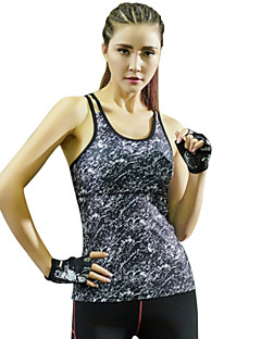 Women's Sleeveless Running Tank Tops Breathable Quick Dry Stretch Spring Summer Fall/Autumn Winter Sports WearYoga Pilates Exercise &
