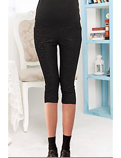 Women's Maternity Skinny Pants Stretchy Spring / Summer / Fall