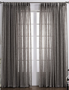 one panel curtain country solid bedroom material sheer curtains shades home decoration for window