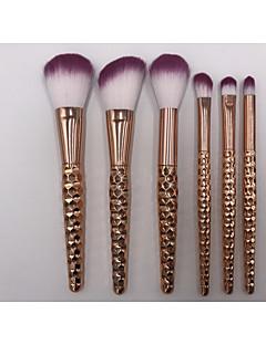 6 Set di pennelli Pennello per cipria Pennello per ombretto Pennello per correttore Pennello per polveri Altro pennello Contour Brush