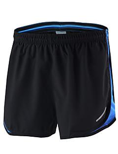 Arsuxeo® לגברים ריצה מכנסיים קצרים נושם ייבוש מהיר חומרים קלים רצועות מחזירי אור מפחית שפשופים מכפלת עם מחזיר אור רך אביב קיץ סתיויוגה