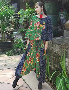 sign av Dora våren nye nasjonale vind damene uformell jakke + hengende skrittet bukser kollaps kvinnelige Leisure Suit