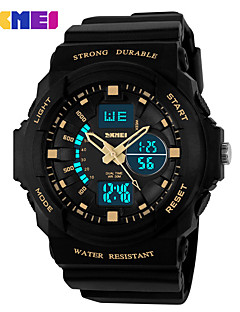 Heren Dames Uniseks Sporthorloge Dress horloge Skeleton horloge Modieus horloge Polshorloge Digitaal horloge Kwarts Digitaal Silicone Band