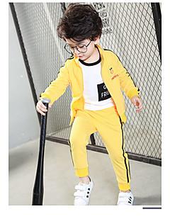Dječaci Pamuk Jednobojni Sportske Ležerno/za svaki dan Jesen Proljeće Setovi Komplet odjeće
