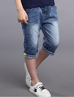 Boys' Casual/Daily Solid Jeans-Cotton Rayon Summer