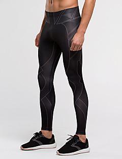 Vansydical® Pánské Běh Kalhoty Cyklistické kalhoty Legíny Spodní část oděvu Prodyšné Rychleschnoucí Komprese Lehké materiály UPF50+Jaro