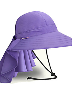 Women's Hat Windproof Dust Proof Antistatic Comfortable Sunscreen Nylon Tactel Camping / Hiking Fishing Leisure Sports