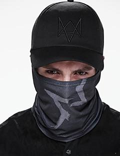 MTIGER SPORTS® Platte pet Unisex Voorjaar Zomer Herfst Hoed Comfortabel Zonbescherming Katoen Honkbal Modieus Zwart