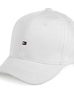 כובע מצחייה שטוח יוניסקס אביב קיץ סתיו חורף כובע נושם לביש חומרים קלים נוח מחנאות וטיולים דיג ריצה לבן שחור ורוד חינני