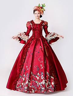 Cosplay Kostüme Prinzessin Göttin Santa Anzüge Fest/Feiertage Halloween Kostüme Druck Kleid Halloween Weihnachten Karneval Silvester Frau