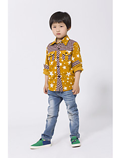 Boys' Casual/Daily Floral Shirt,Cotton Spring