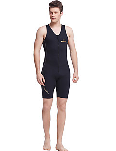 Men's 1mm Wetsuits Quick Dry Anatomic Design Breathable Neoprene Diving Suit Sleeveless Diving Suits-Swimming Diving Summer Classic