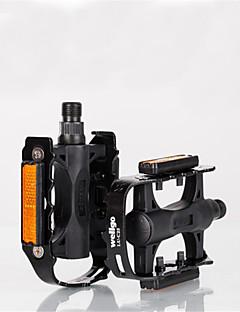 Bicicleta Pedales BMX Ciclismo Recreacional Bicicleta plegable Negro aluminiowellgo