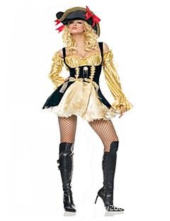 Cosplay Kostüme Seeräuber Fest/Feiertage Halloween Kostüme Modisch Gymnastikanzug/Einteiler Kopfbedeckung Halloween Karneval Frau