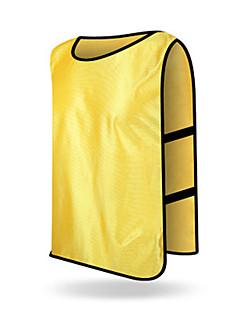 子供用 サッカー ベスト 快適 夏 ファッション ゼブラプリント 環境に優しい ポリエステル サッカー ホワイト オレンジ イエロー レッド グリーン