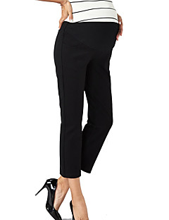 Damă Zvelt Simplu Șic Stradă Talie Inaltă,strenchy Pantaloni Chinos Pantaloni Solid