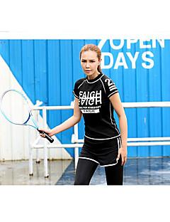 女性用 長袖 ランニング 防水 防風 夏 スポーツウェア ヨガ スパンデックス スリム