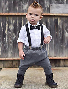 Boy Going out Formal Gentleman Sets Cotton Long Sleeve Clothing Set Kids Clothes