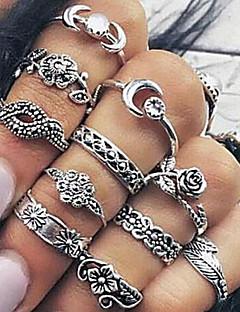 Naisten Midi-sormukset Vintage pukukorut Metalliseos Korut Käyttötarkoitus Päivittäin