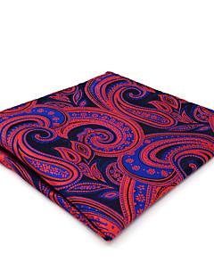 עניבה ואסקוט משי כל העונות וינטאג' חמוד מסיבה עבודה יום יומי גברים