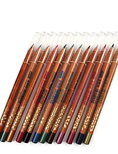 Lápis de Olho Lápis Secos Gloss Colorido Natural Olhos M.N