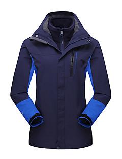לנשים ז'קטים לחורף מעילי 3 ב 1 ז'קטים לנשים סקי מחנאות וטיולים ציד ספורט שלג סנואובורד עמיד למים נושם שמור על חום הגוף עמיד עמיד לאבקסתיו