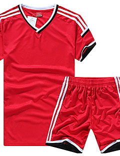 Homme Football Maillot + Short/Maillot+Cuissard Respirable Printemps Hiver Automne Classique Polyester Football